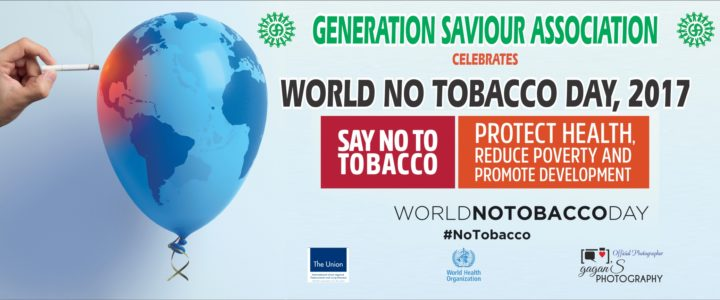 Celebration of World No Tobacco Day, 2017